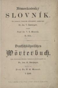 Německo-český slovník 1893